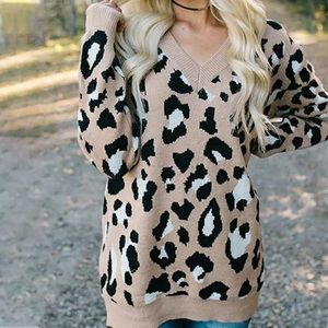 🎉Coming Soon! Tan Cheetah Animal Print Sweater!